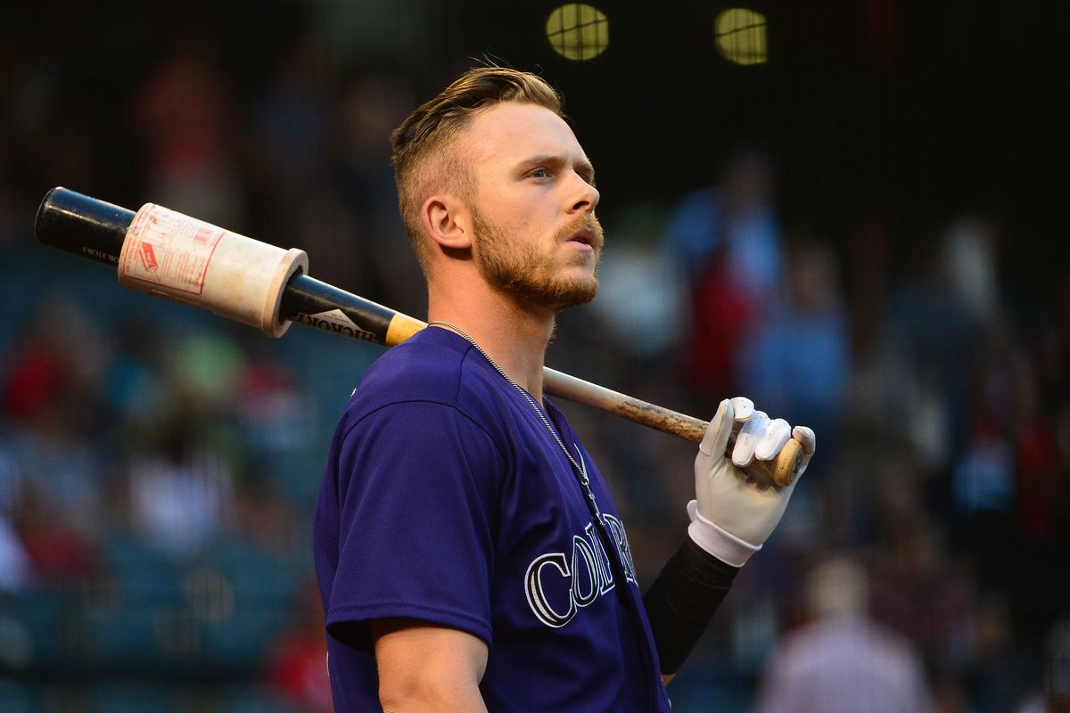 71d2a8709d99 Trevor Story tied record for most rookie home runs in April  let s ...