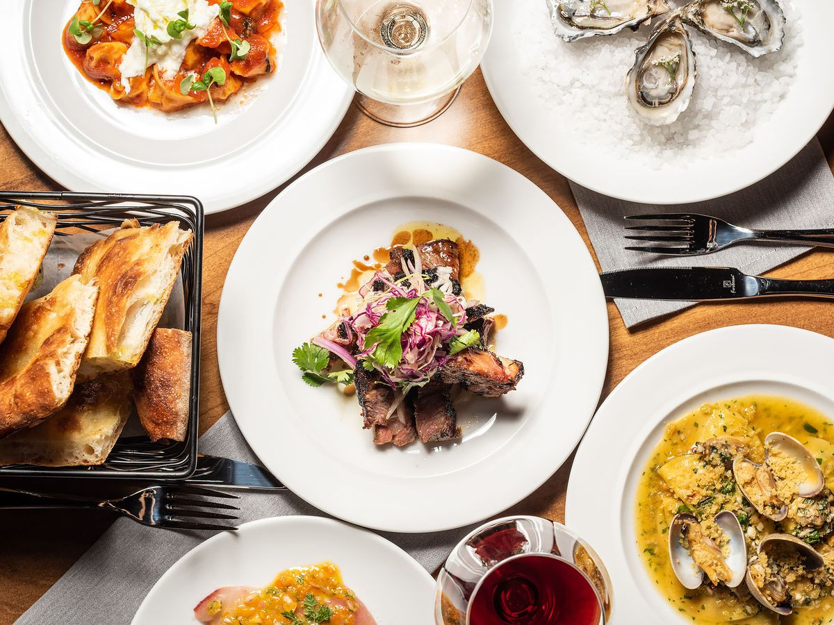 Dishes from Hippo, Highland Park