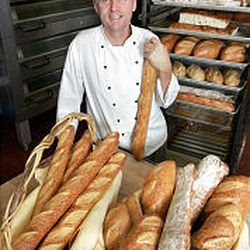 Grand America pastry chef Kurtis Baguley learned the art of bread-baking while working in San Francisco.