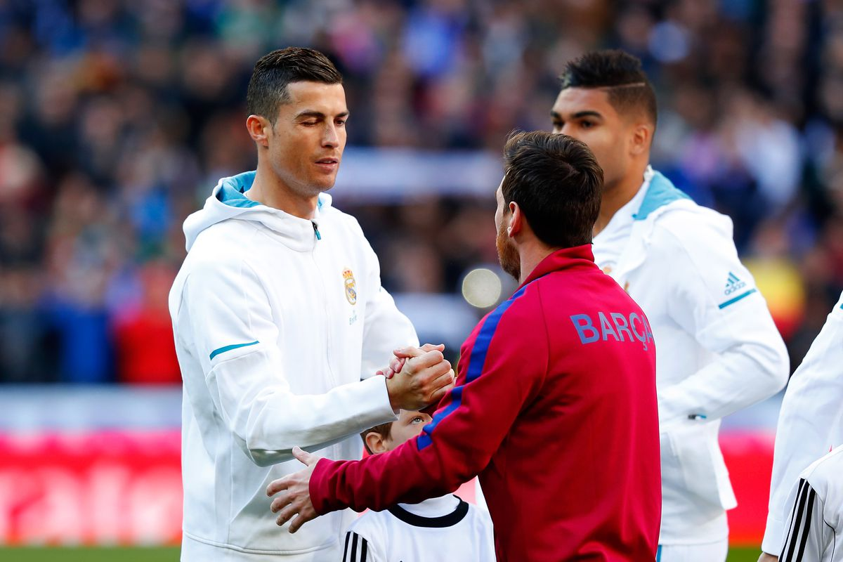 Cristiano Ronaldo & Lionel Messi - Real Madrid & Barcelona - UEFA Champions League