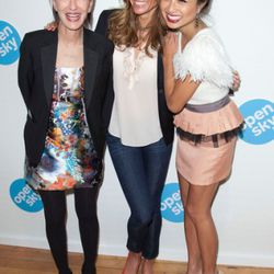 Cynthia Rowley, Kelly Bensimon, and Jeannie Mai at last night's opening party
