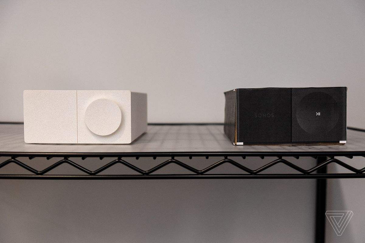 The New Sonos Amp Is Coming To Save Your Old Speakers Verge Precision Power Subwoofer Wiring Diagram Early Prototypes Of Looked Much Different Than Finished Product