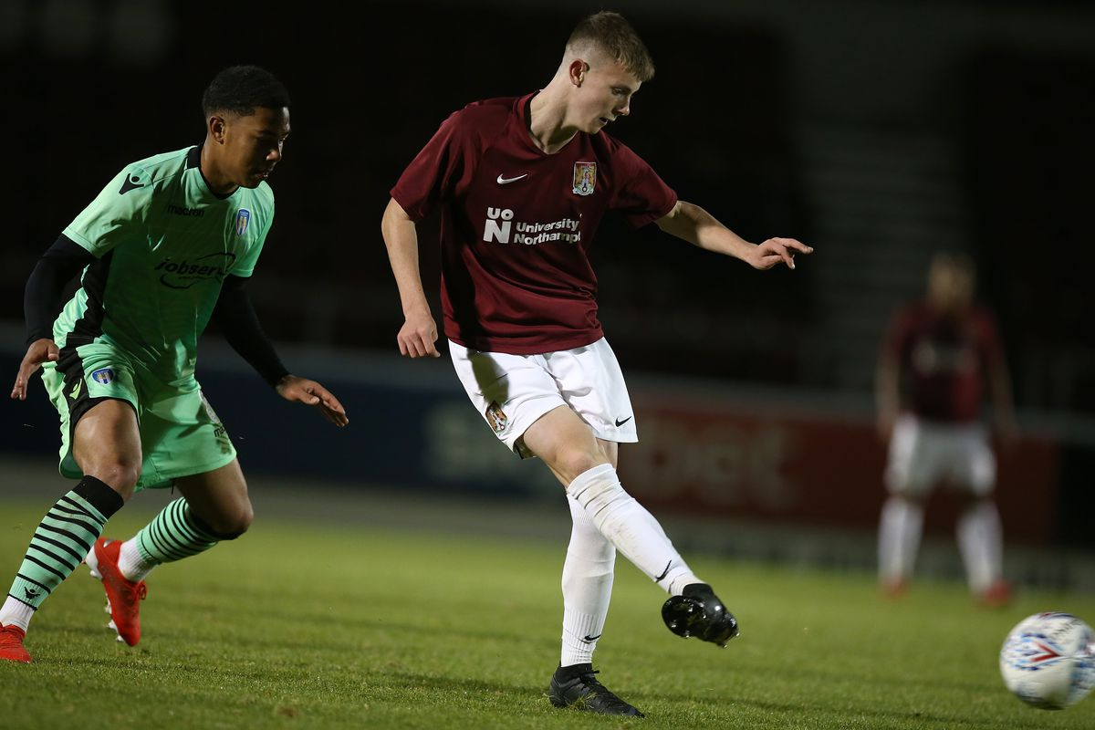 Northampton Town v Colchester United - FA Youth Cup: 1st Round