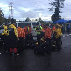 Search teams prepared for Day 3 of the search for Annie Schmidt in the Columbia River Gorge.