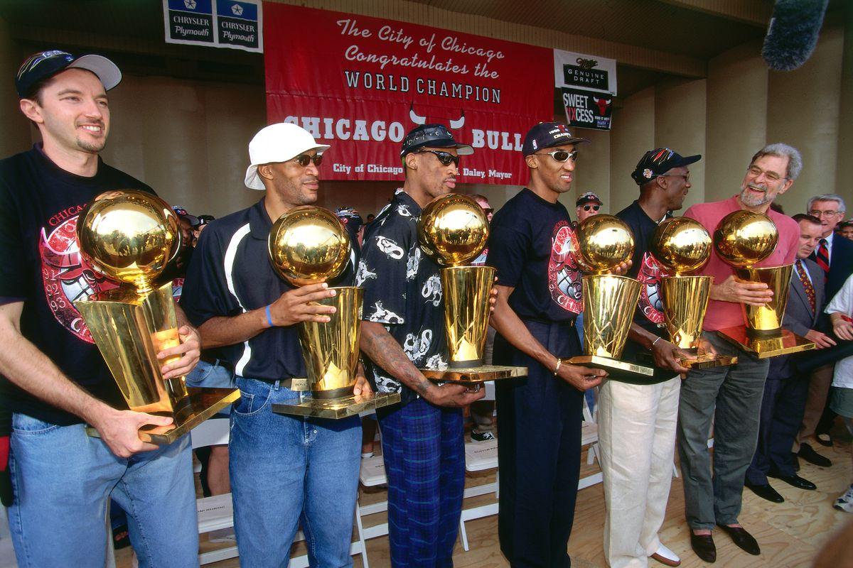 1998 Chicago Bulls Championship Parade and Rally