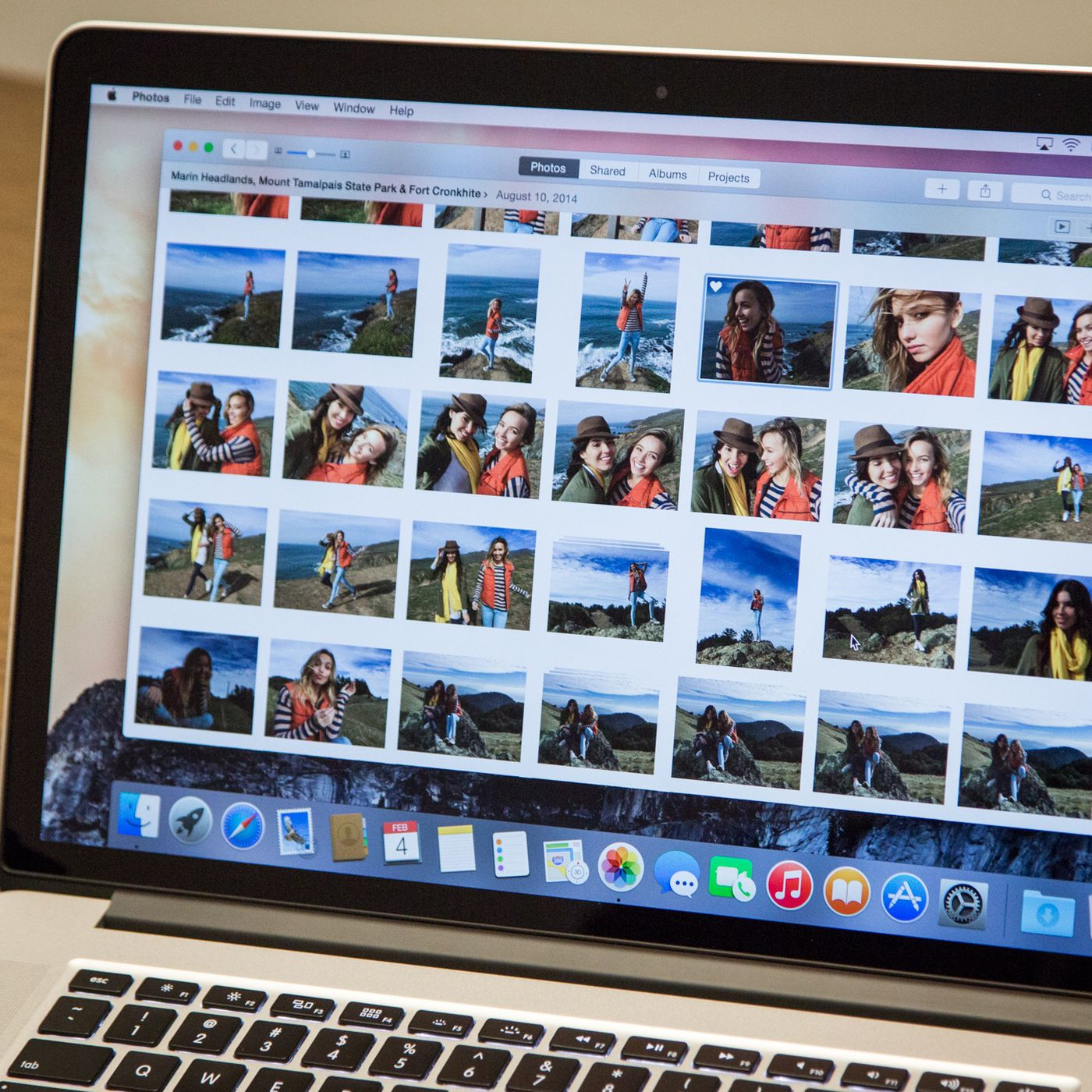 Goodbye iphoto apples new photos app for mac is here the verge baditri Images