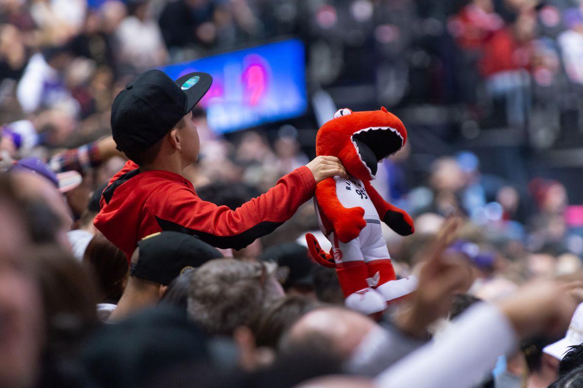 Toronto Raptors crowd