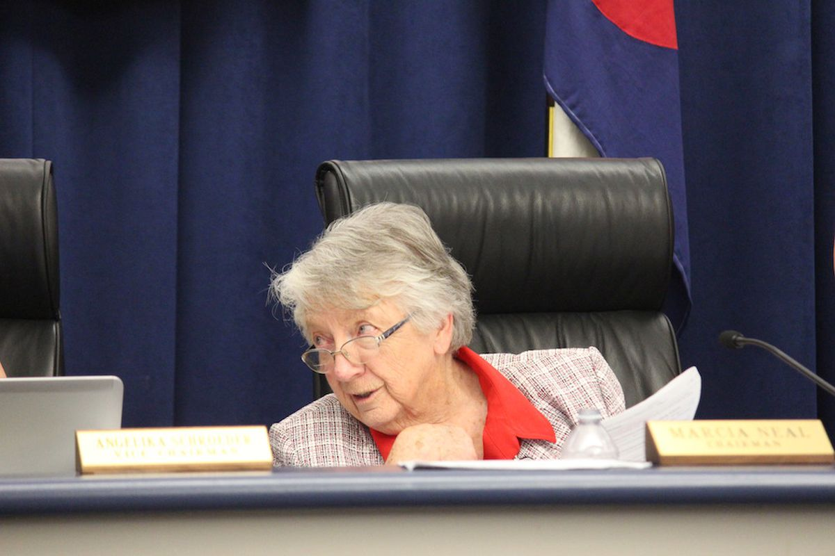 State Board of Education Chairwoman Marcia Neal has resigned.