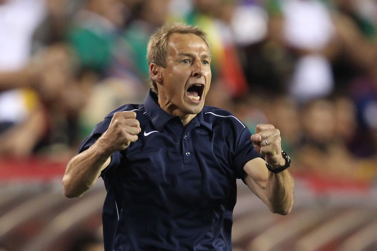 Yep, Jurgen was excited for the Robbie Rogers goal!
