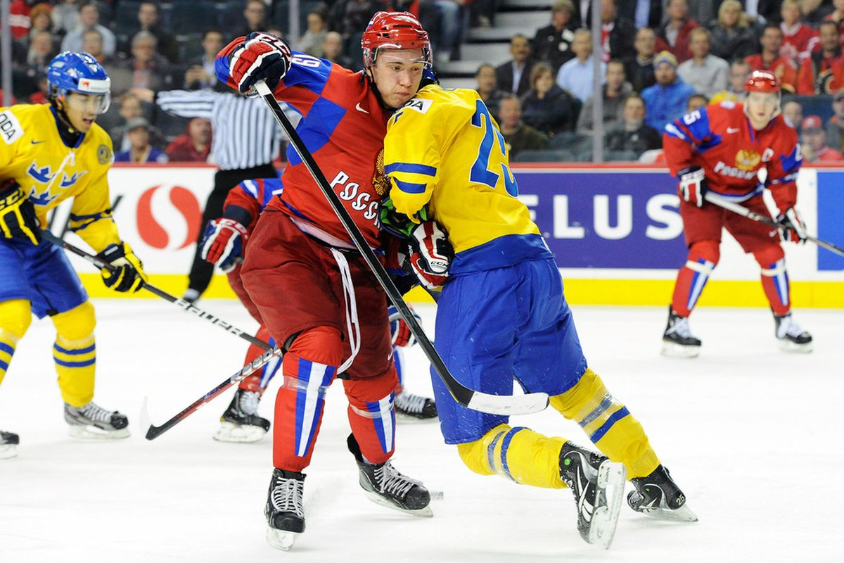 This is just Jonas Brodin winning the Gold Medal. No big deal.