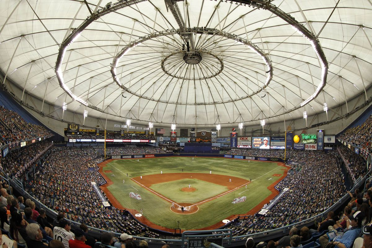 The Rays are very excited about their new stadium ...