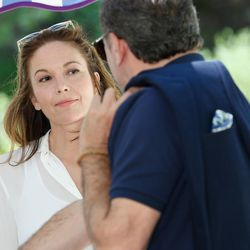 """Diane Lane as Anne Lockwood and Arnaud Viard as Jacques Clement in """"Paris Can Wait."""""""
