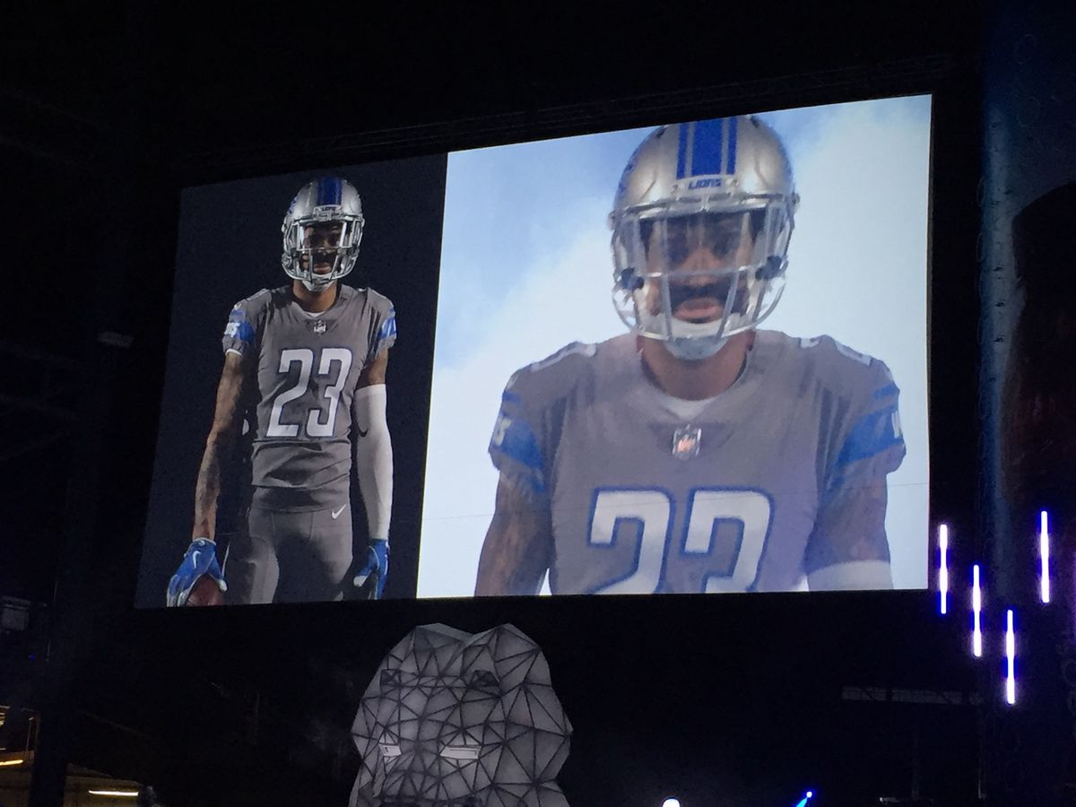 0d368c6e3ff The game will be televised nationally on NFL Network and will be the first  time the Lions will be suiting up in a Color Rush jersey. This year