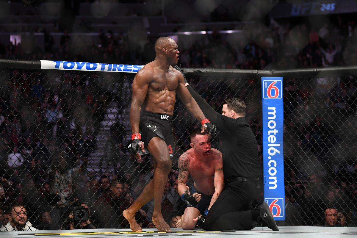 MMA: UFC 245-Usman vs Covington