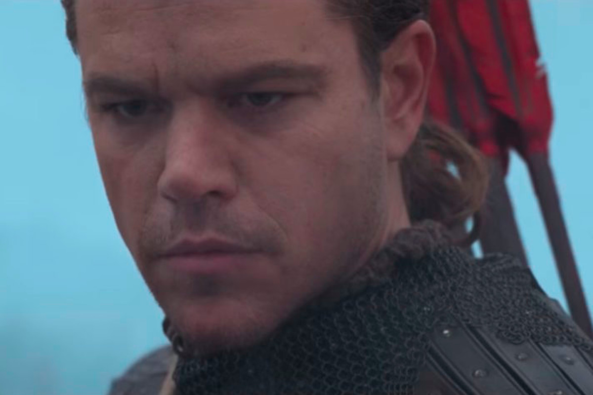 The Great Wall Director Defends Matt Damon Casting Says Hes Not