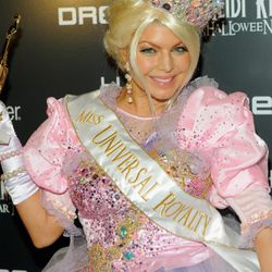 """Fergie attended as """"Miss Universal Royalty."""""""
