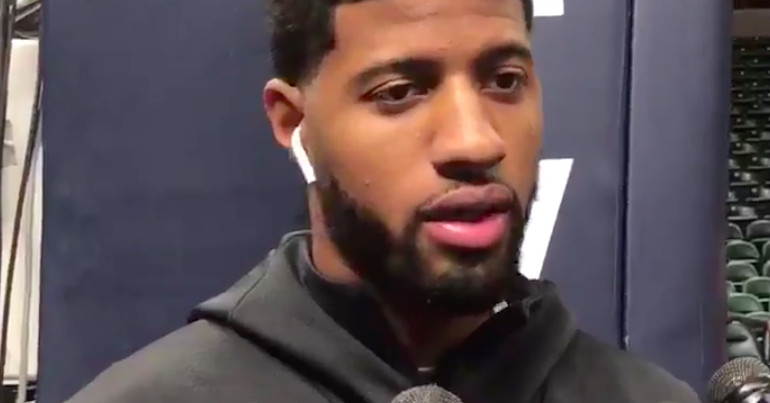 Paul George says he regrets how he left Indiana