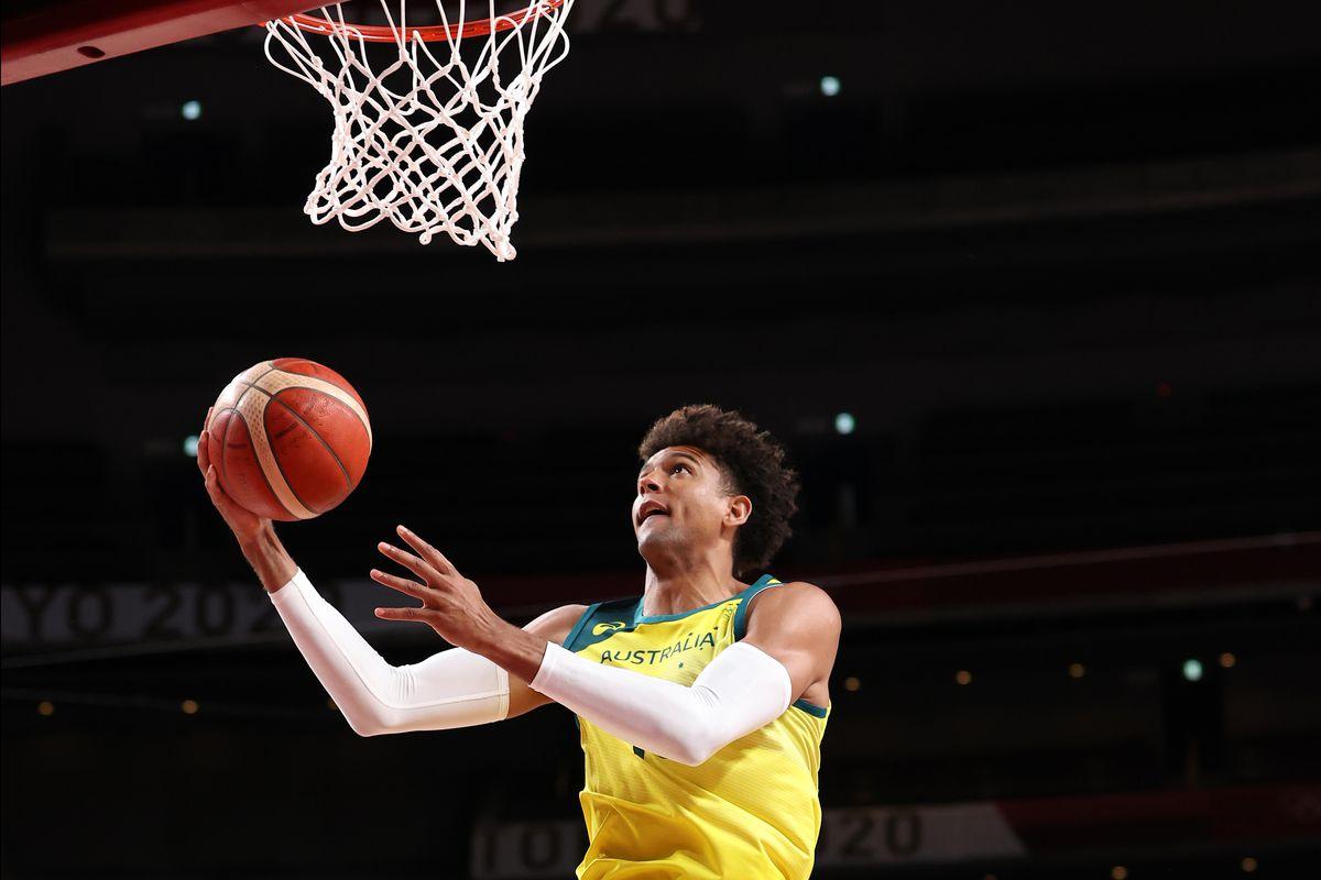 Australia v Argentina Men's Basketball - Olympics: Day 11