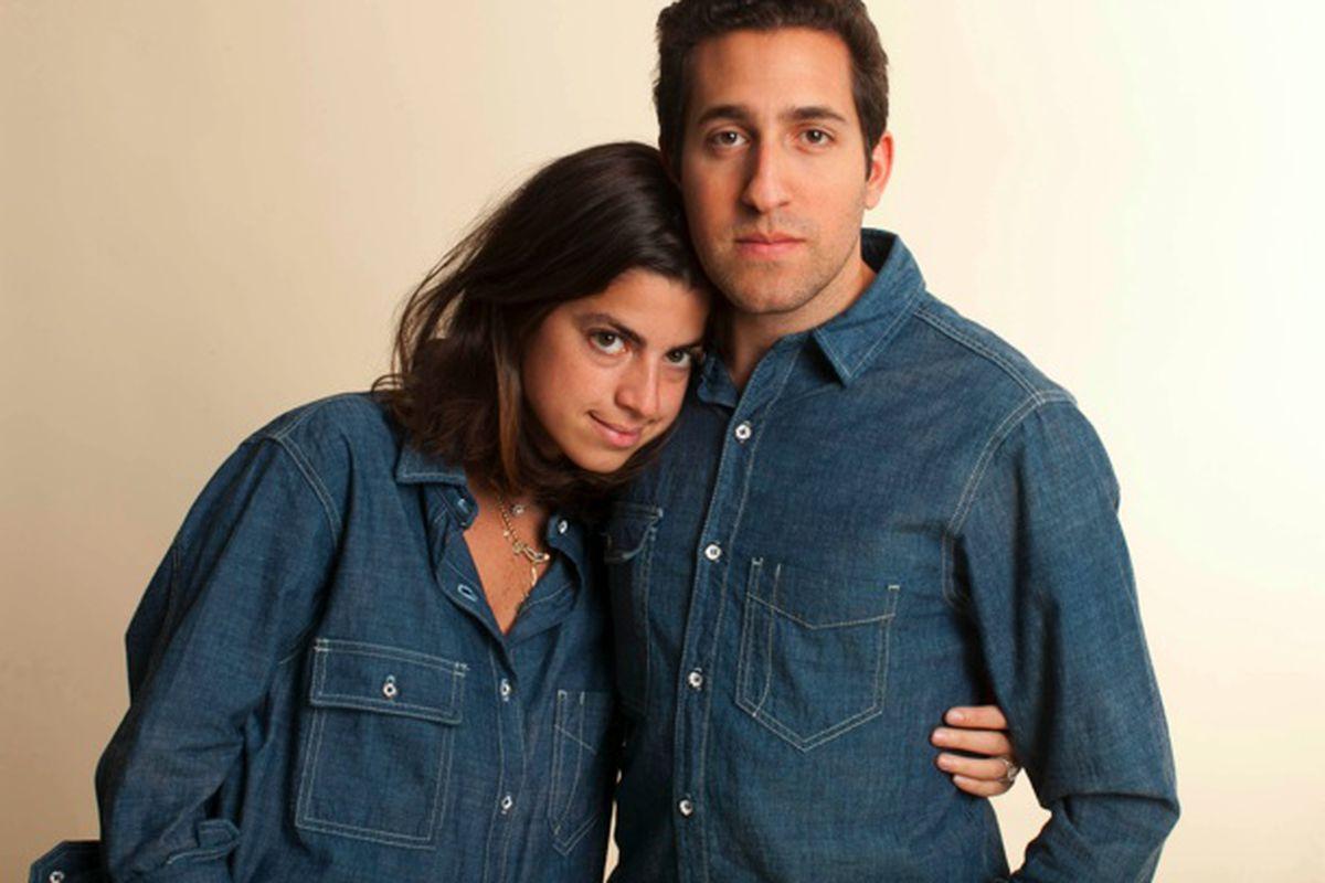 "Denim days, couple style, via <a href=""http://www.rag-bone.com/blog/2012/12/the-man-repeller-and-her-man/"">Rag &amp; Bone</a>"