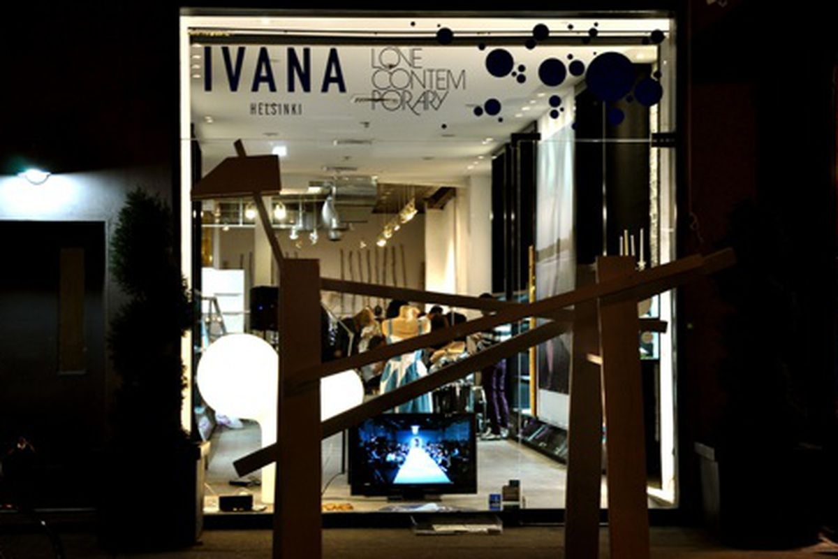 """Ivana Helsinki x Love Contemporary's Pop-up Shop Which Opened on Mulberry Street on Friday <a href=""""http://www.flickr.com/photos/essgee/4373440206/in/pool-rackedny"""">EssG</a>/Racked Flickr Pool"""