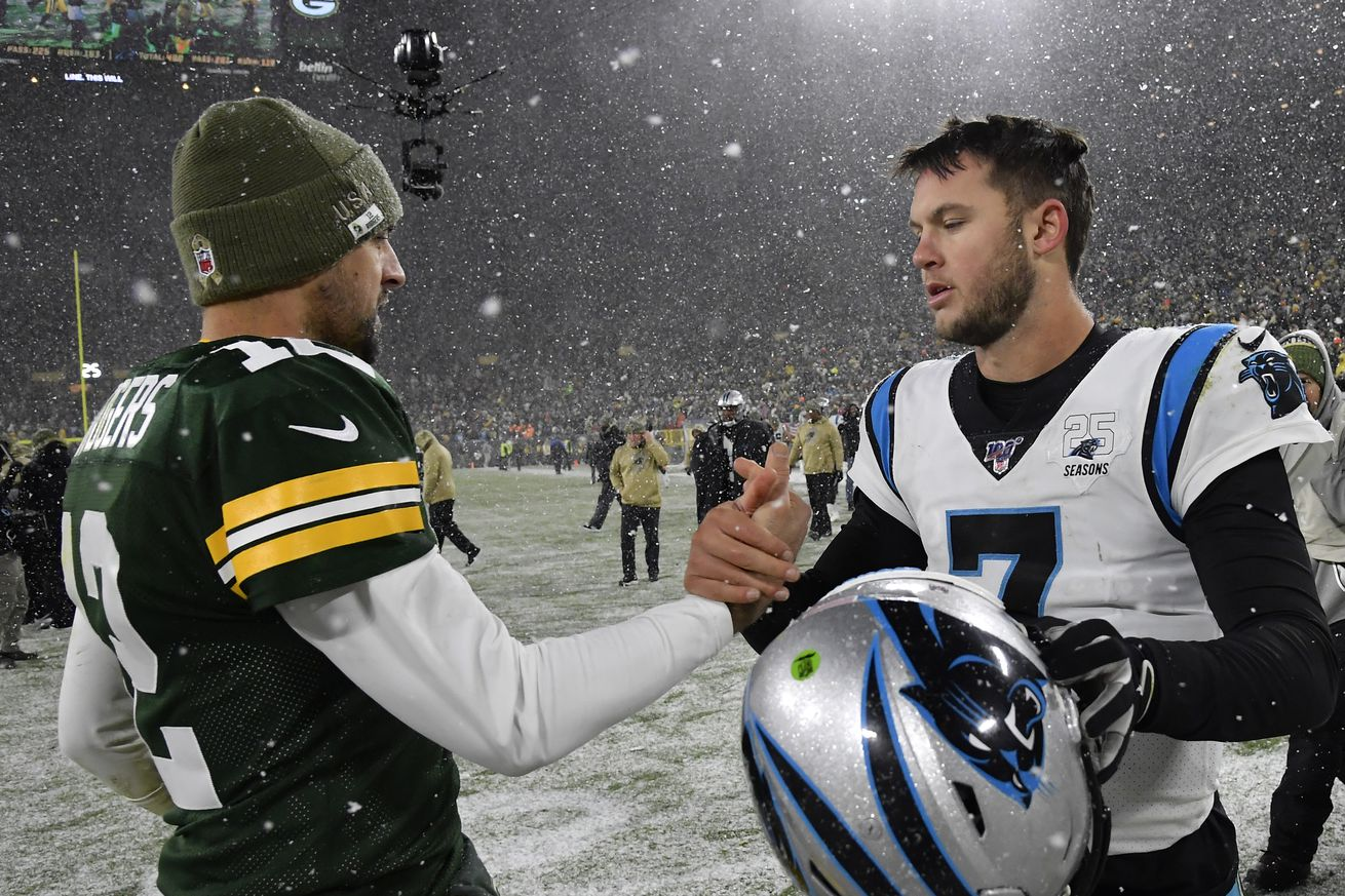 Panthers 16 Packers 24: Stock up, stock down