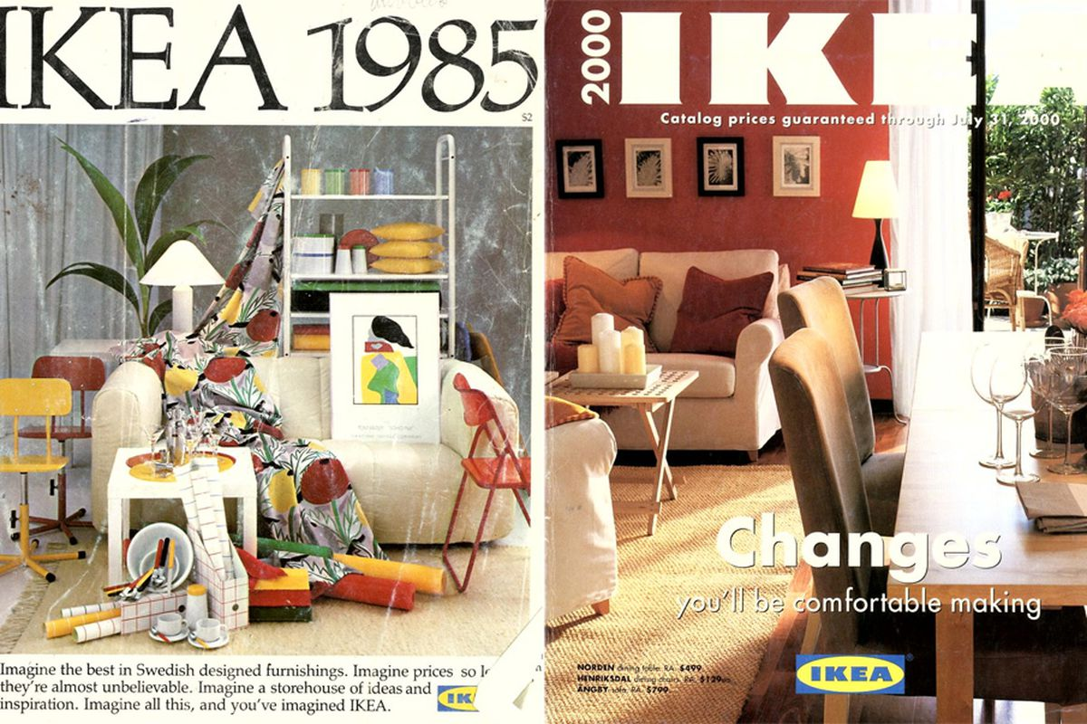 Vintage Ikea Catalog Covers