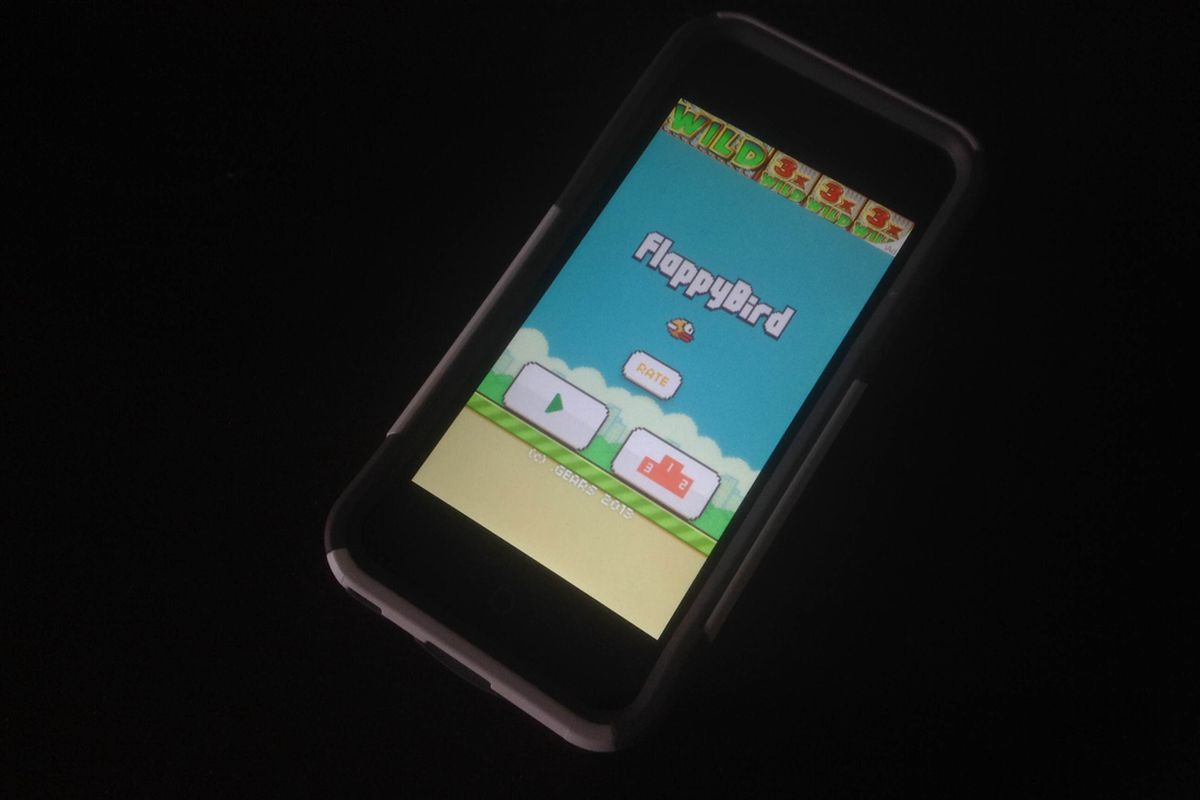 Phones Installed With Flappy Bird Selling On Ebay After Game Pulled From Stores Polygon