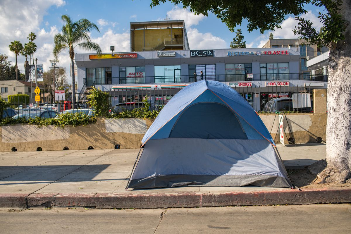 Tent in Hollywood