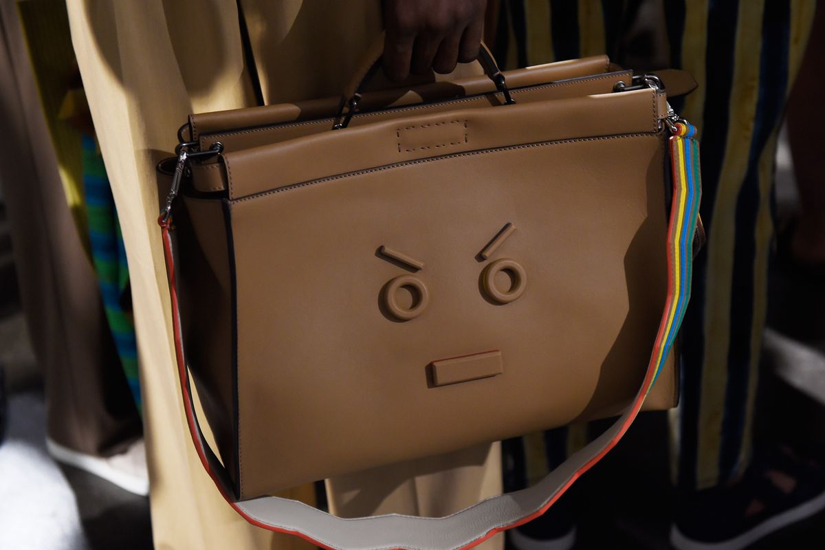 f4360c86c8 Fendi Put an Angry Face Emoji on a Briefcase - Racked