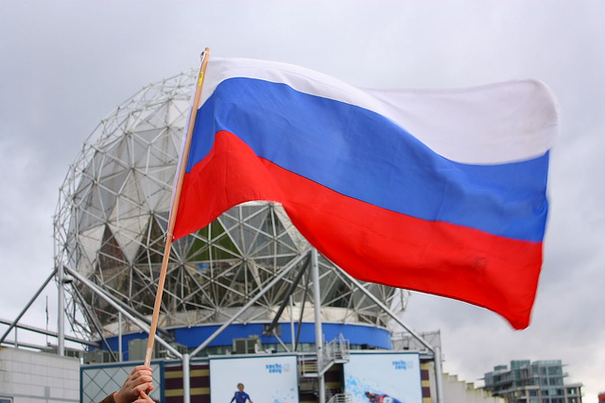Flickr CC Russian flag