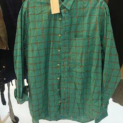 Men's shirt, $52