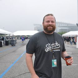 Chris Hicks, the first person in line for the festival received an All Access pass for his dedication.
