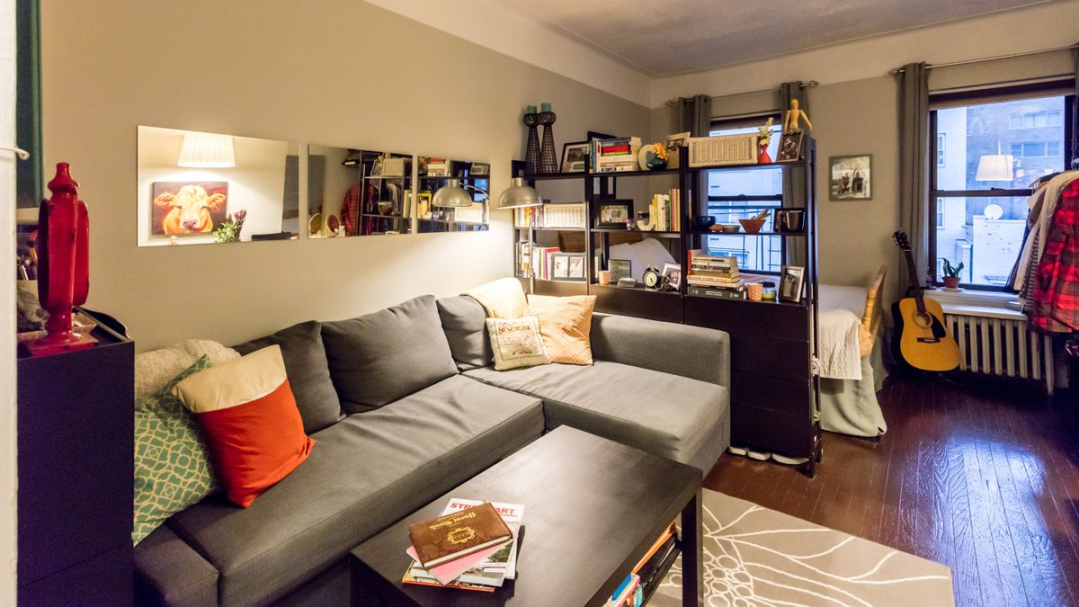 A 225 Square Foot Midtown East Studio Is Enlivened By A