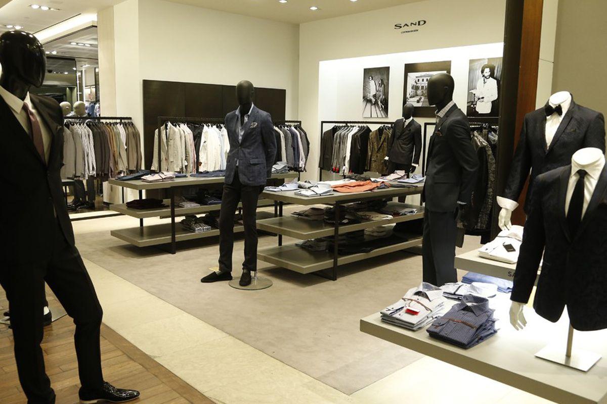 "Image via <a href=""http://www.wwd.com/menswear-news/retail-business/saks-opens-sand-shop-at-flagship-6924570"">WWD</a>"