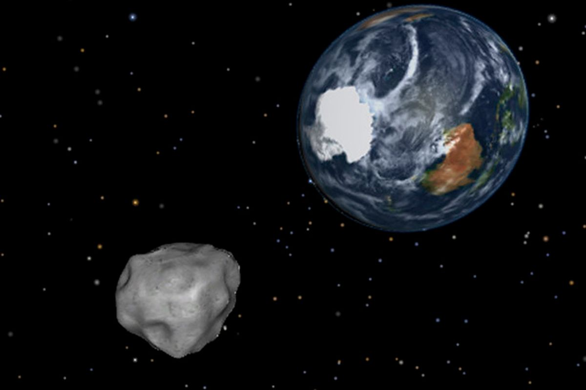 Watch live as a record-breaking asteroid passes the Earth ...