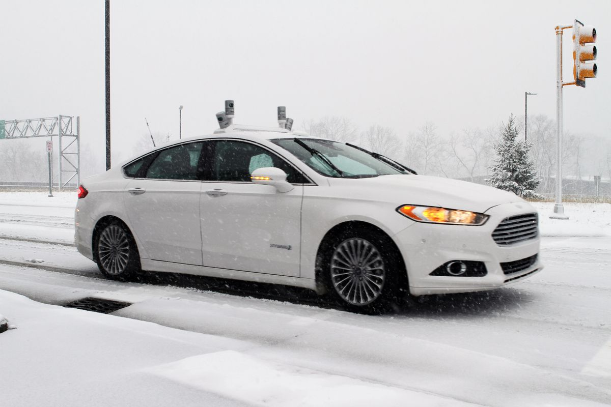 ford snow self-driving