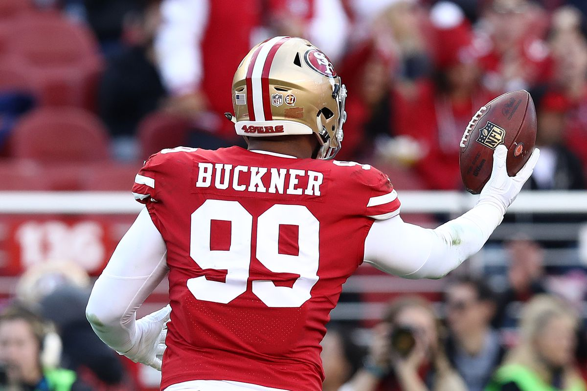 buy popular 7fa3a 45033 Deforest Buckner news: The 49ers excercise fifth-year option ...