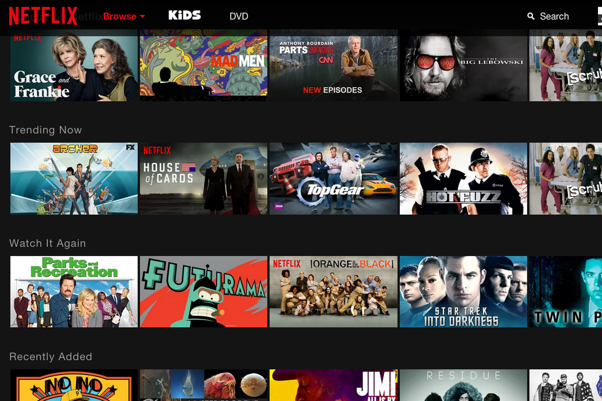 The science behind netflix s first major redesign in four - Home shows on netflix ...