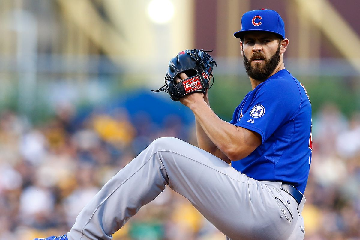 Is this Jake Arrieta preparing to go into overdrive?