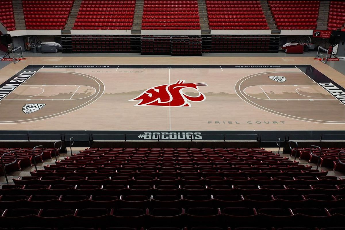 Wsu Unveils Redesigned Basketball Court In Beasley Coliseum Cougcenter