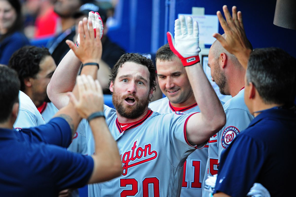 In a day that was all about Daniel Murphy, Bryce Harper was still the star.