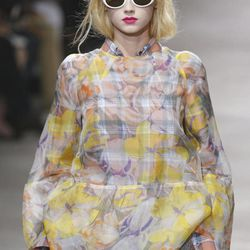 A model wears a creation by Belgian fashion designer Dries van Noten for the fashion house's Spring Summer 2013 ready-to-wear collection, for Fashion Week, in Paris, Wednesday, Sept.26, 2012.