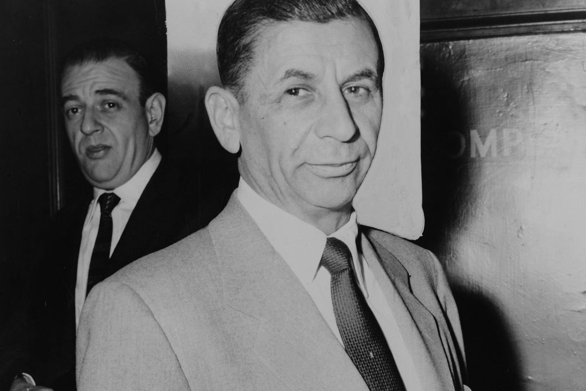 Meyer Lansky, one of the most powerful and famous Jewish mobsters in American history.