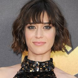 BEST TOUSLED BOB WITH BANGS: Lizzie Kaplan nudges out Halle Berry by a nose for this category.