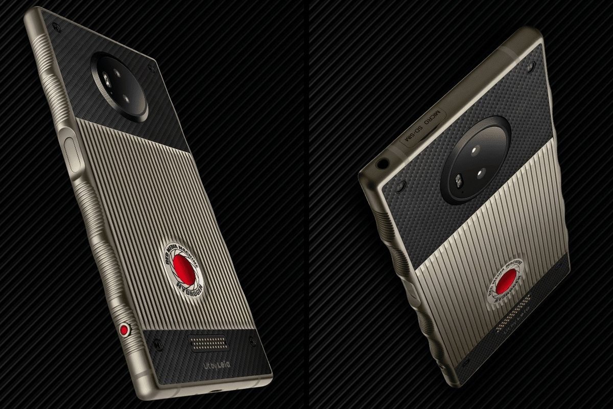 RED's titanium Hydrogen One phone is finally shipping for $1,595