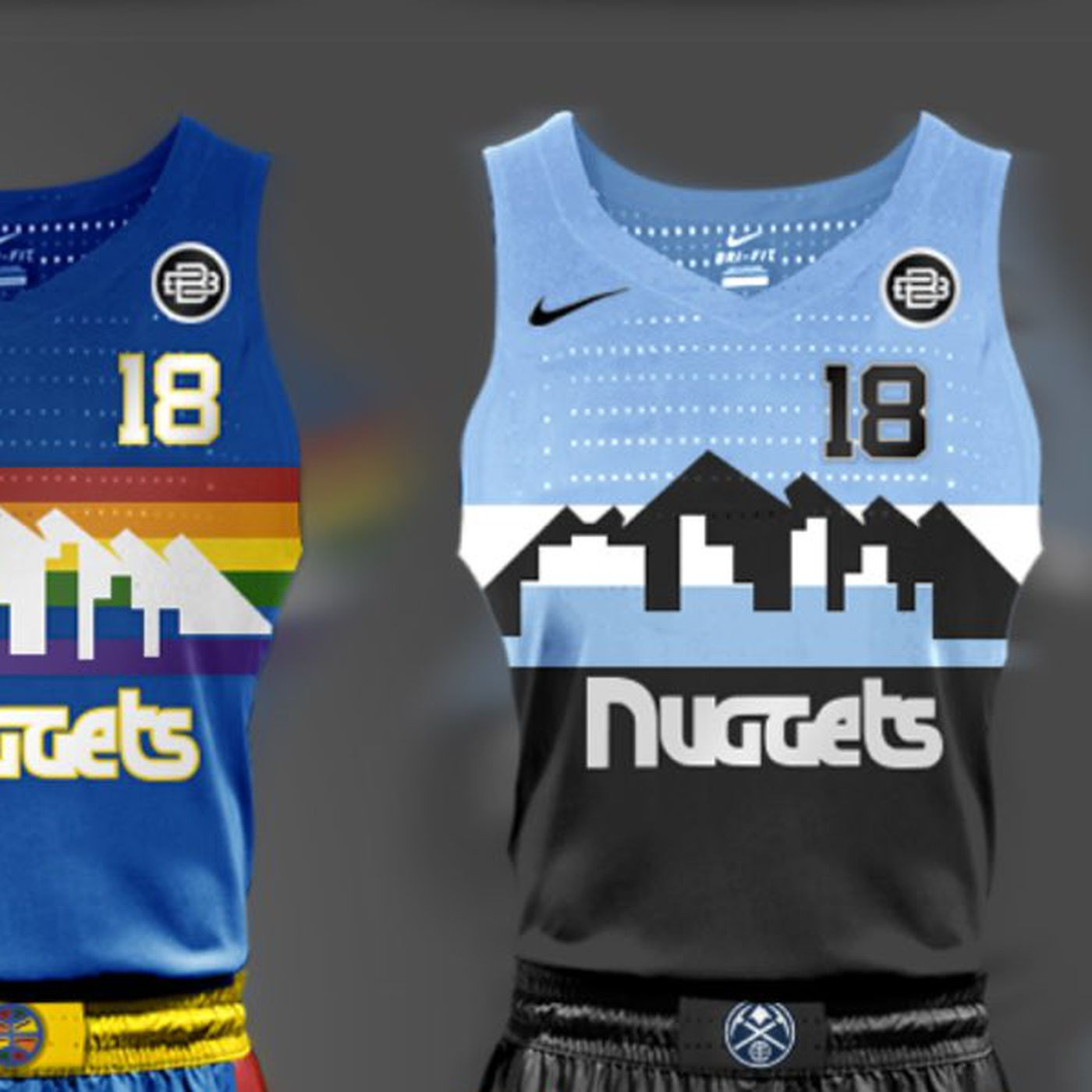 online store 28aa2 c64c2 These fan-made Denver Nuggets jersey designs are the best ...