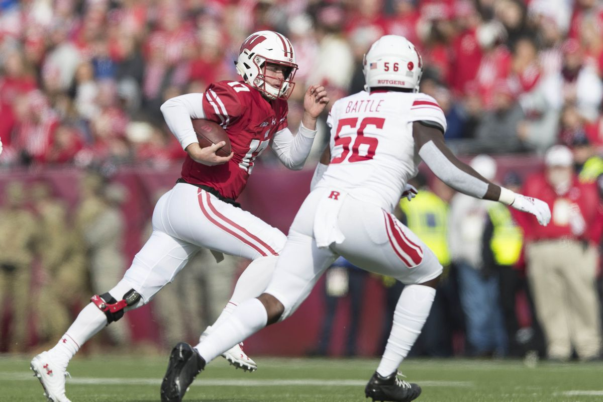 Wisconsin Football Jack Coan Replaces Alex Hornibrook Vs