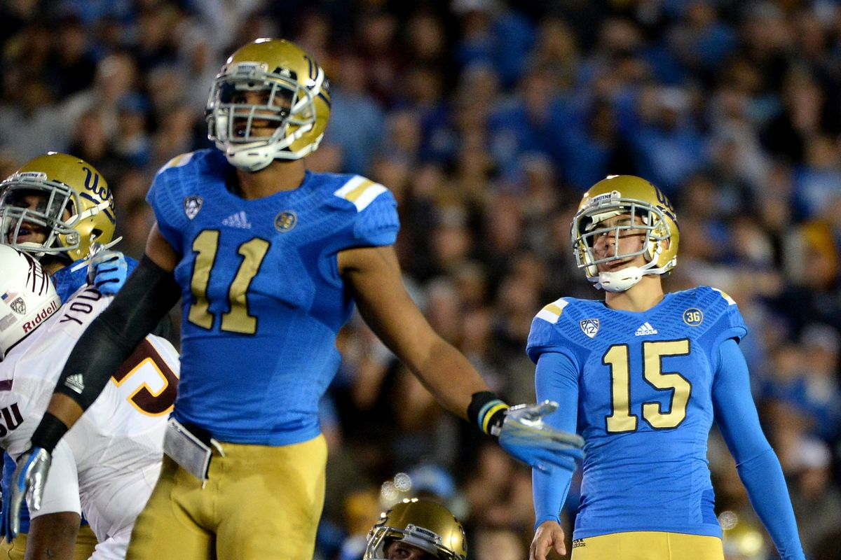 UCLA's kicking game is a question mark.
