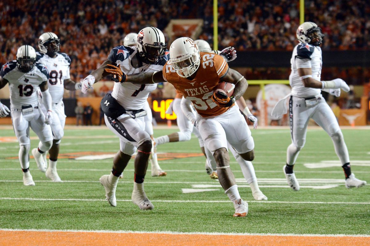 Texas Longhorns Wreck Texas Tech Red Raiders 41-16 - Burnt Orange Nation