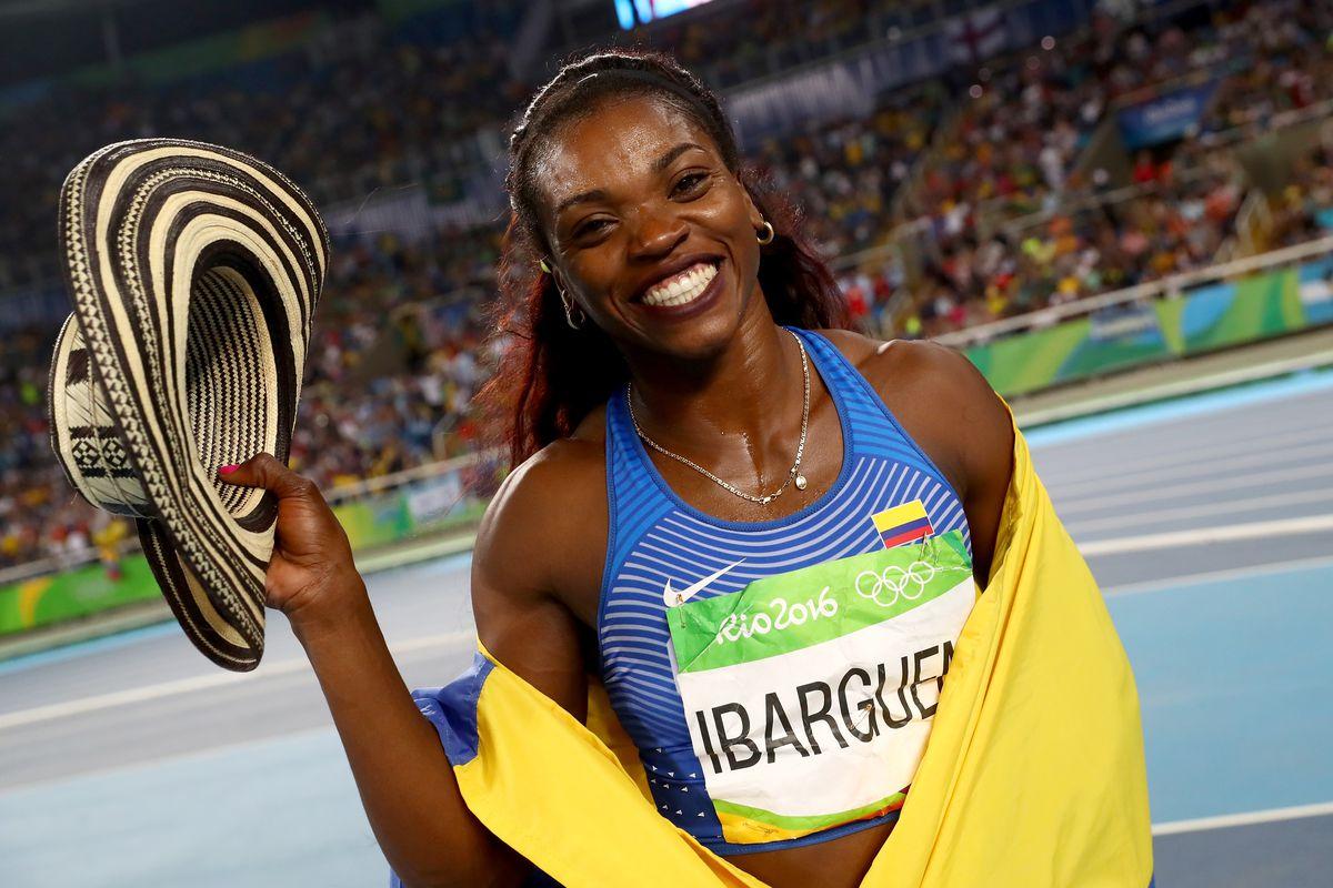 Olympics 2016: Caterine Ibargüen of Colombia wins gold medal in women's triple jump - SBNation.com